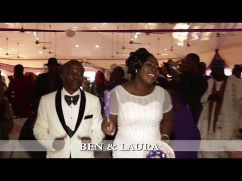 LAURA & BEN WHITE WEDDING