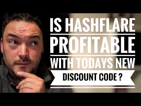 """Is Hashflare profitable with todays 30% off discount code?  """" HF18BDAY30 """""""
