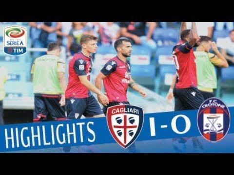 Cagliari - Crotone - 1-0 - Highlights - Giornata 3 - Serie A TIM 2017/18