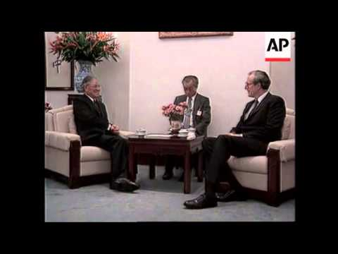 TAIWAN: PRESIDENT LEE TENG HUI TO VISIT USA IN JUNE