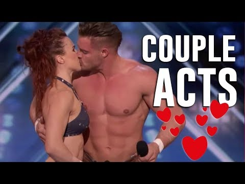 TOP 4 AMAZING ❤ COUPLE ACTS ❤ ON AMERICA'S GOT TALENT 2018