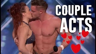 TOP 4 AMAZING ❤ COUPLE ACTS ❤ ON AMERICA'S GOT TALENT 2018 Video