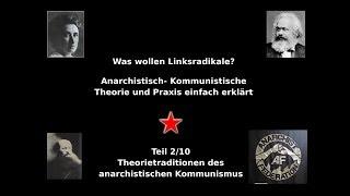 Was wollen Linksradikale? 2/10 Theorietraditionen