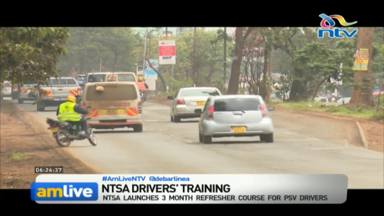 NTSA launches refresher course for long-haul PSV drivers