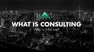 Consulting 101 - What is Consulting?
