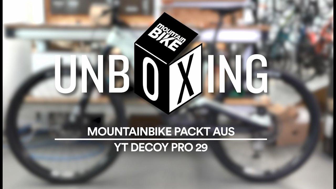 Unboxing: YT Decoy Pro 29 - MOUNTAINBIKE packt aus!