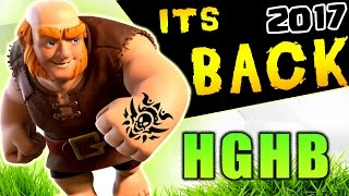 HGHB IS BACK!? : TH9 SUPER STRONG WAR ATTACK STRATEGY 2017 (Low Level Heros) | Clash of Clans