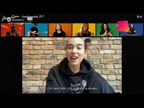 Dua Lipa - Love Again  | OMH Constellation COVID-19 Charity Livestream