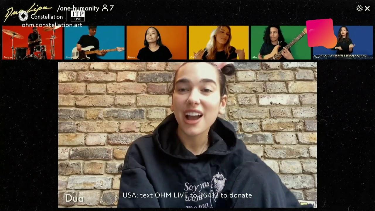 Download Dua Lipa - Love Again (OMH Constellation COVID-19 Charity Livestream)