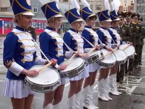 маршевая музыка барабаны