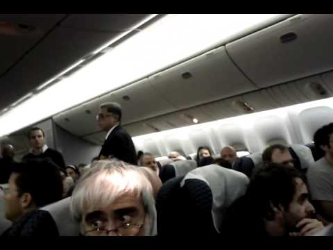 Drunk incident on Continental flight co-84 to TLV