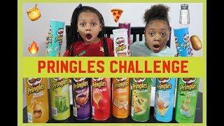 Pringle's Challenge With Janiyah And Aaliyah