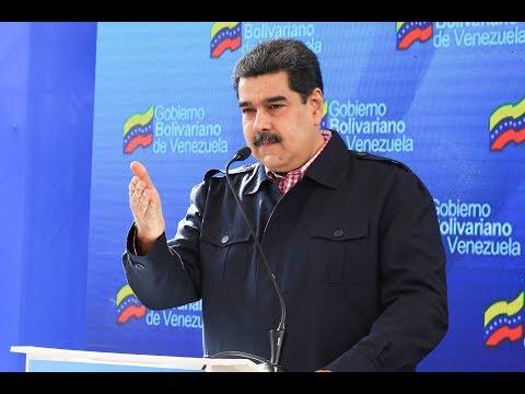 """Maduro: """"Colombia está preparando una guerra contra Venezuela y se le va a estrellar en el hocico"""""""