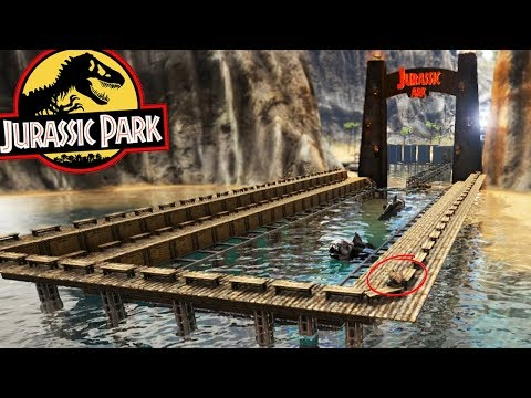 ARK: Jurassic World - EASTMANOSTEUS MINI STADIUM! LOBBY CONSTRUCTION - (S2E2 Ark Survival Evolved)