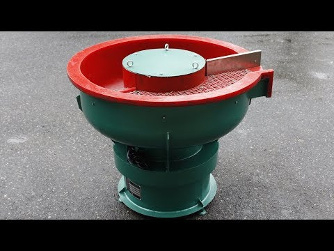 Vibratory Polishing Machine - How To Polish Metal Parts
