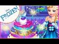 💫 Disney Frozen Queen Elsa's Wedding Cake Decorate Game for Girls