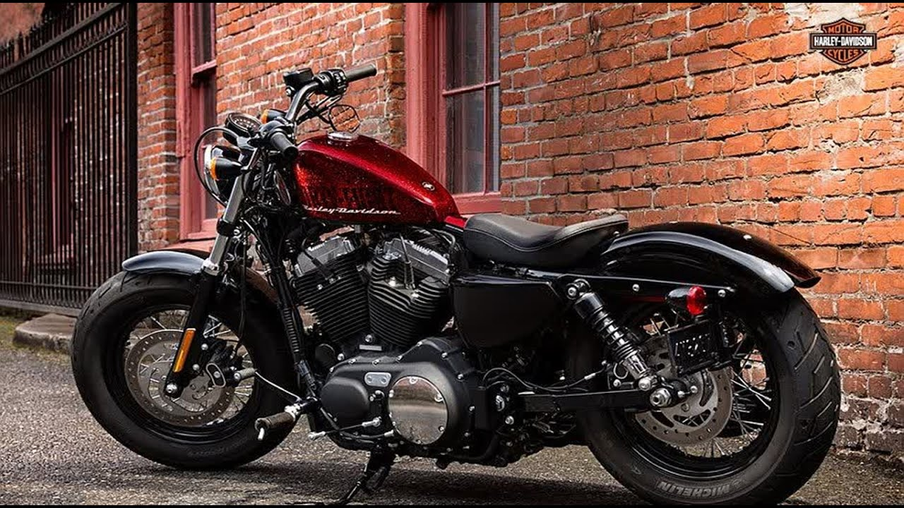 2015 Harley Davidson Forty Eight review - YouTube