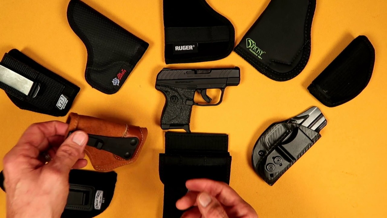 RUGER LCP II HOLSTERS & CARRY OPTIONS