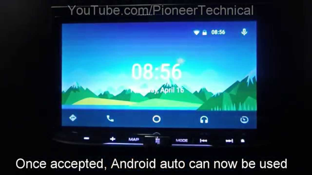 Pioneer: How to connect Android Auto - AVIC-F77DAB, AVIC-F70DAB, AVH ...