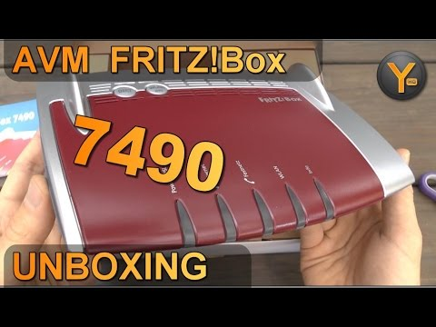 unboxing first look avm fritz box 7490 dsl vdsl router wlan usb 3 0 dect basis. Black Bedroom Furniture Sets. Home Design Ideas