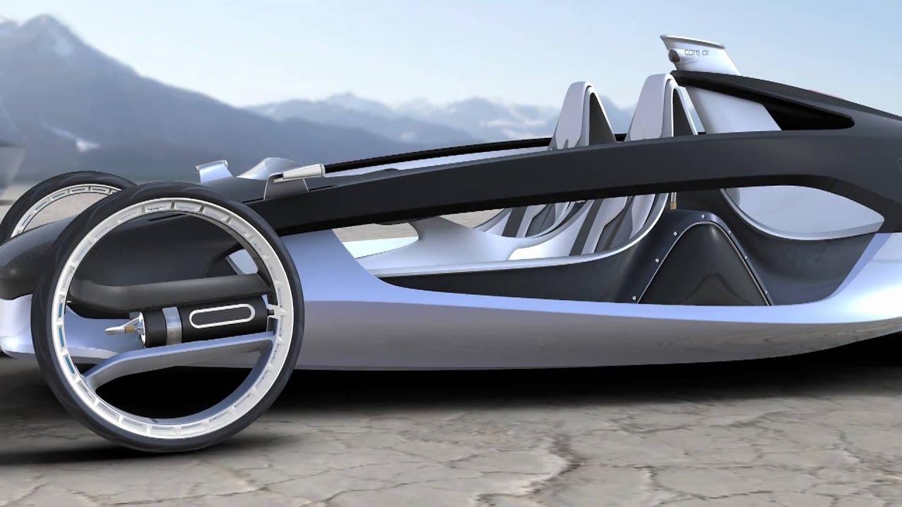 la auto show 2010 design challenge - volvo air motion - youtube