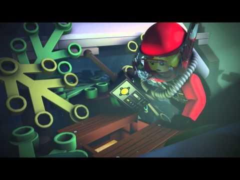 Explore the Secrets of the Ocean - LEGO City - Mini Movie (3D)