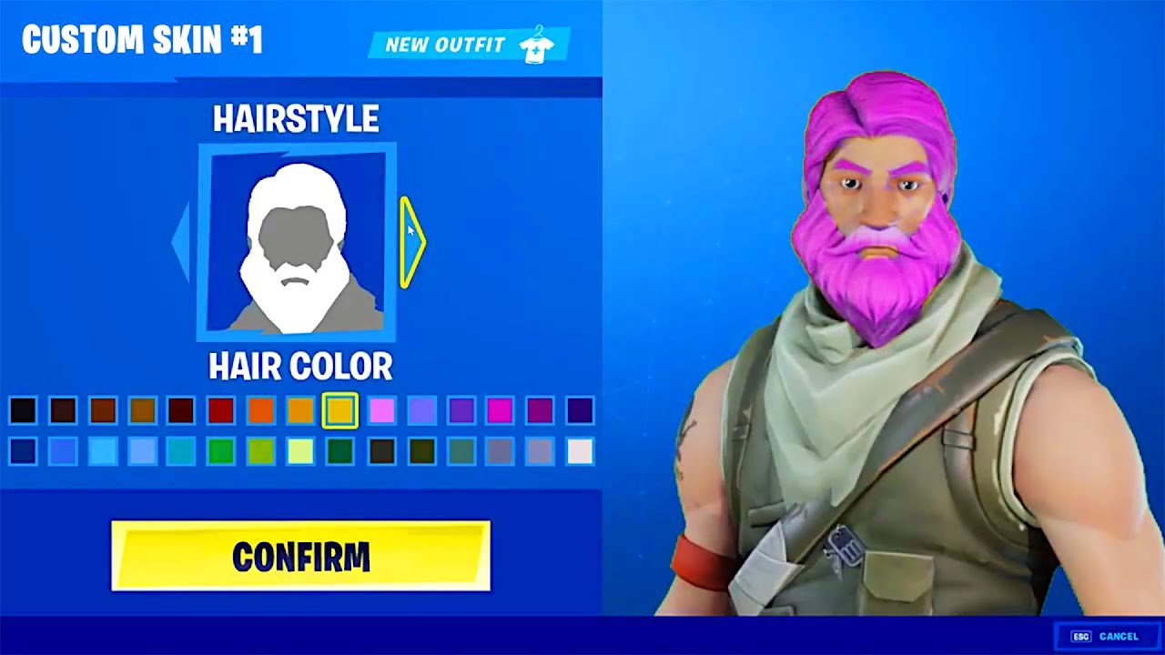 HOW TO CREATE YOUR OWN SKIN IN FORTNITE! NEW FREE Skin ...