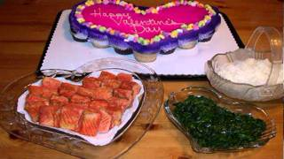 Come Eat: Salmon & Spinach