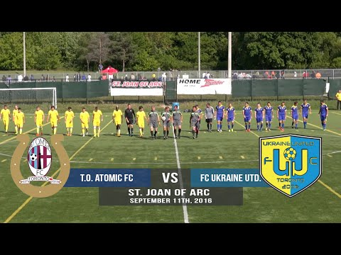 Toronto Atomic FC vs FC Ukraine United - 09/11/16