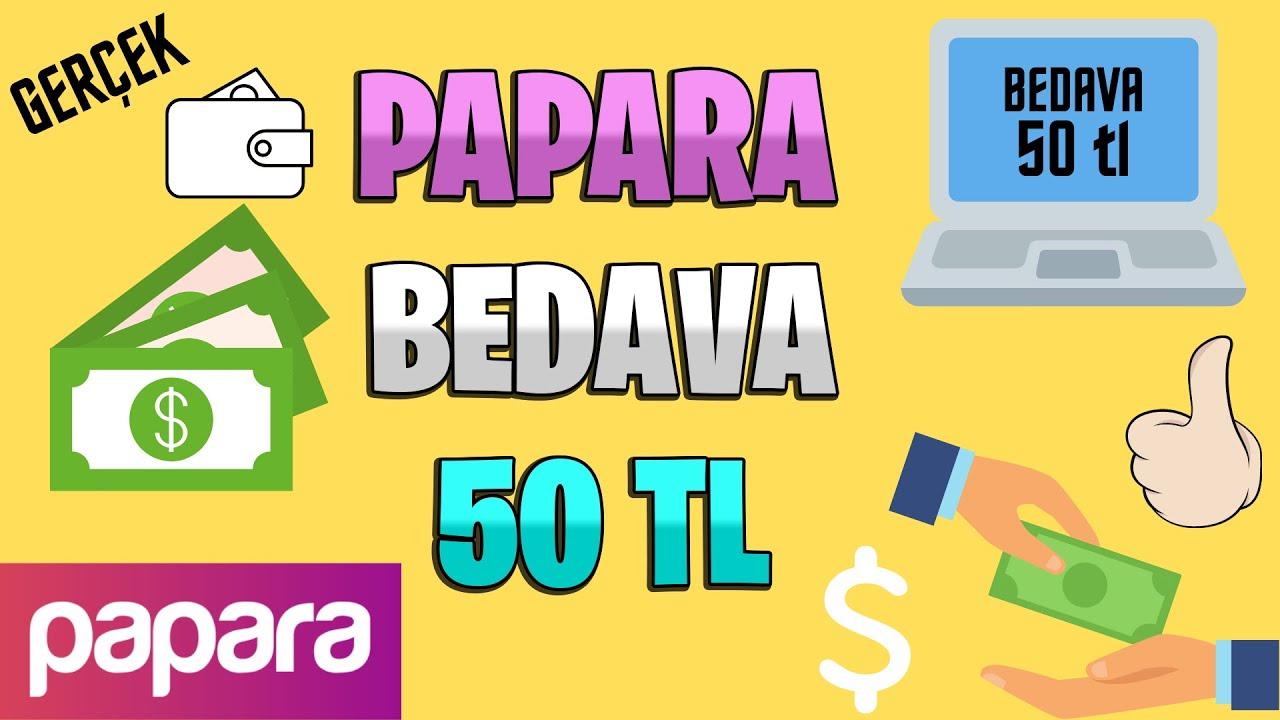 Papara Bedava 50 TL 🌐 Papara Bedava 50 TL Kazanma 🌐 İnternetten Para Kazanma