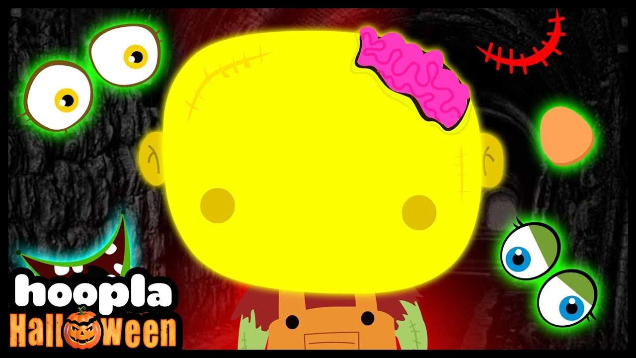 Missing Face Cute Zombie   Fun Halloween Songs For Children   Hoopla Halloween