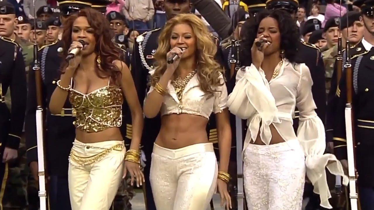 Destiny's Child - Live at NFL Thanksgiving Halftime Show ...