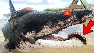 Ark Survival Evolved - NEW HELICOPRION IN ARK, PTERODACTYL - Ark Modded Gameplay