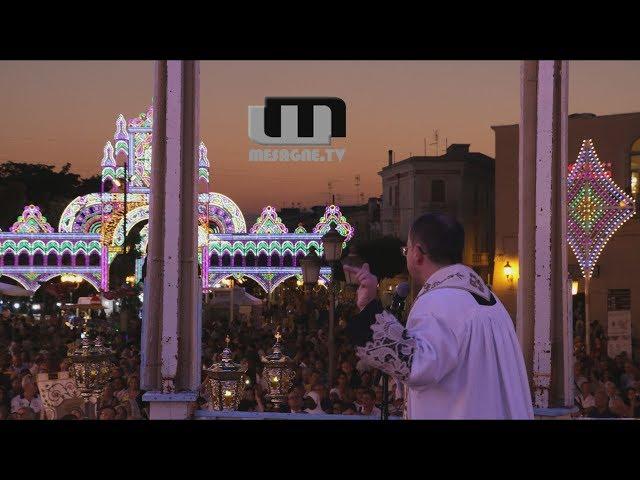 La festa della Madonna del Carmine a Mesagne 2018