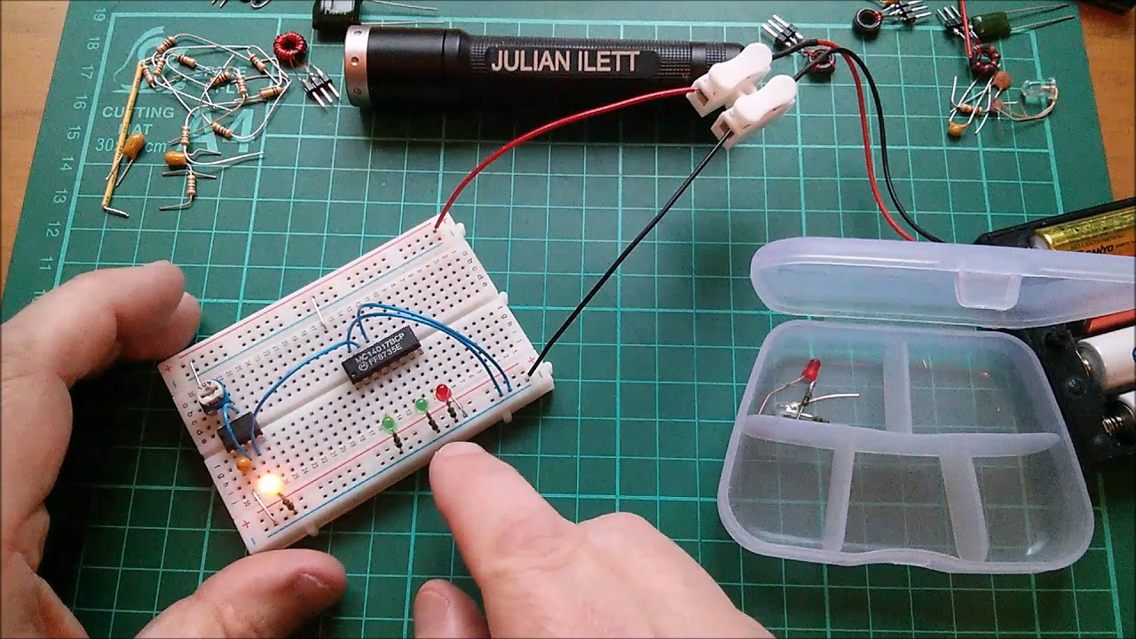 Make A Knight Rider Circuit On Breadboard Youtube Gps Tracker Pcb Board Printed Assembly Buy