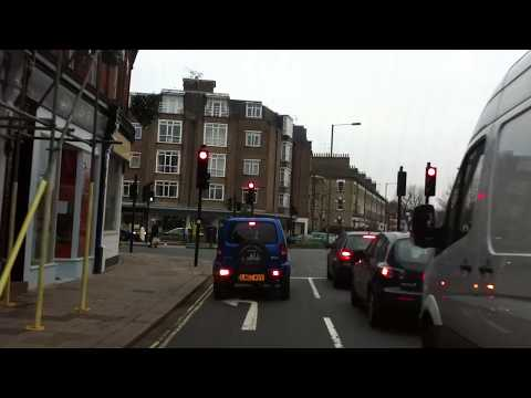 London Streets (604.) - Barnes - Richmond - Twickenham - Fel