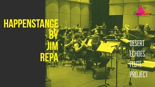 Gambar cover Happenstance by Jim Repa; Desert Echoes Flute Project