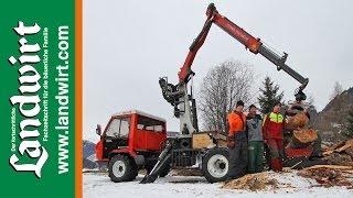 Reform Muli T8 im Forsteinsatz