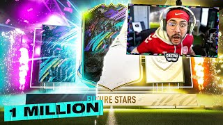 ICON & 1 MILL FUTURE STARS PACKED!! FIFA 21