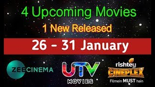 4 Upcoming - 1 New Released South Hindi Movies (24 -- 31 January)
