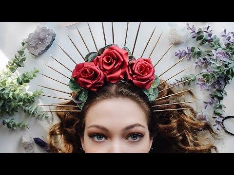DIY Renaissance Inspired Halo Crown ✦ Natasha Rose