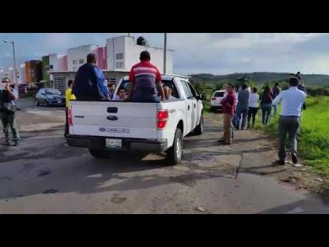 Fiscal de Veracruz visita por primera vez y a escondidas fosas de Colinas de Santa Fe