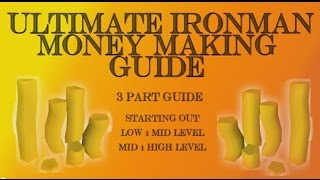 Ultimate RS3 IronMan Money Making Guide - All Levels [Runescape 2015]