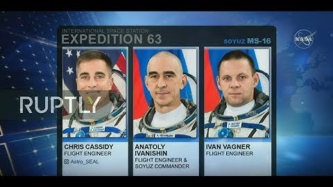 LIVE: Expedition 63 launches from Baikonur for six-and-a-half month mission on ISS