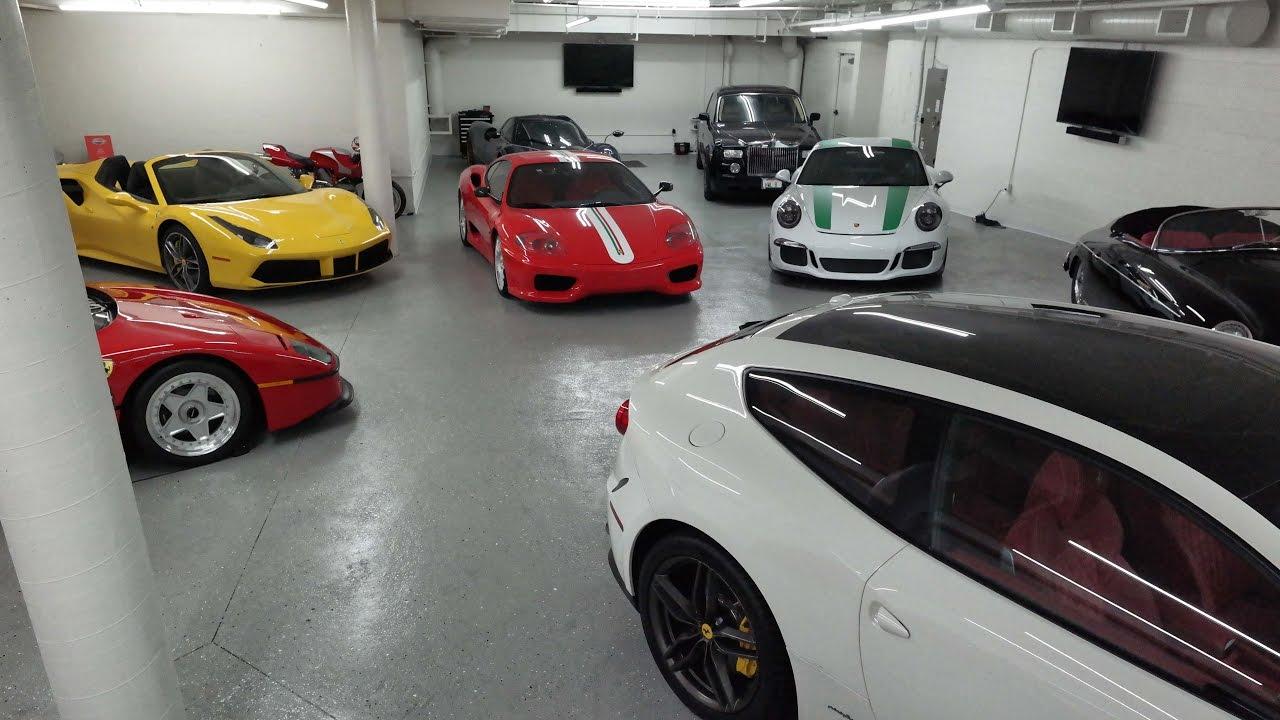 David Lee S Mega Ferrari Collection 5 Of His Top Motors