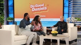 The Daniels Family Gives Ellen a Preview of Their Inspiring New Series