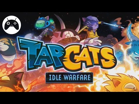 Tap Cats: Idle Warfare - Android Gameplay HD