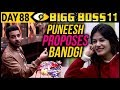Puneesh PROPOSES To Bandgi With A RING | Day 88 Bigg Boss 11 | 28th December 2017 Episode Update