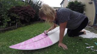 DIY surfboard making