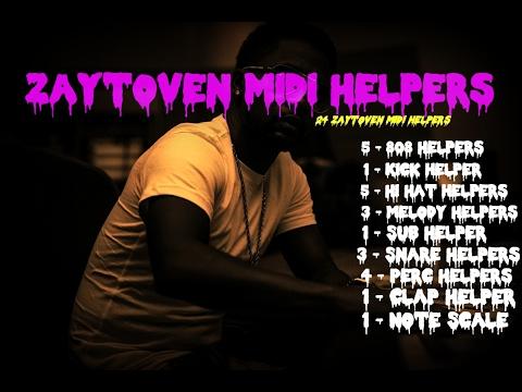 The Zaytoven Way (Zaytoven Helpers) Midi Kit Vol 1